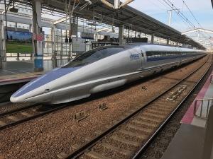 山陽新幹線500系「こだま」
